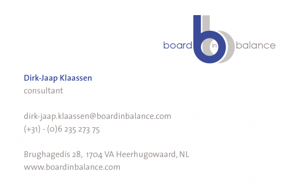 Business Card Dirk-Jaap Klaassen