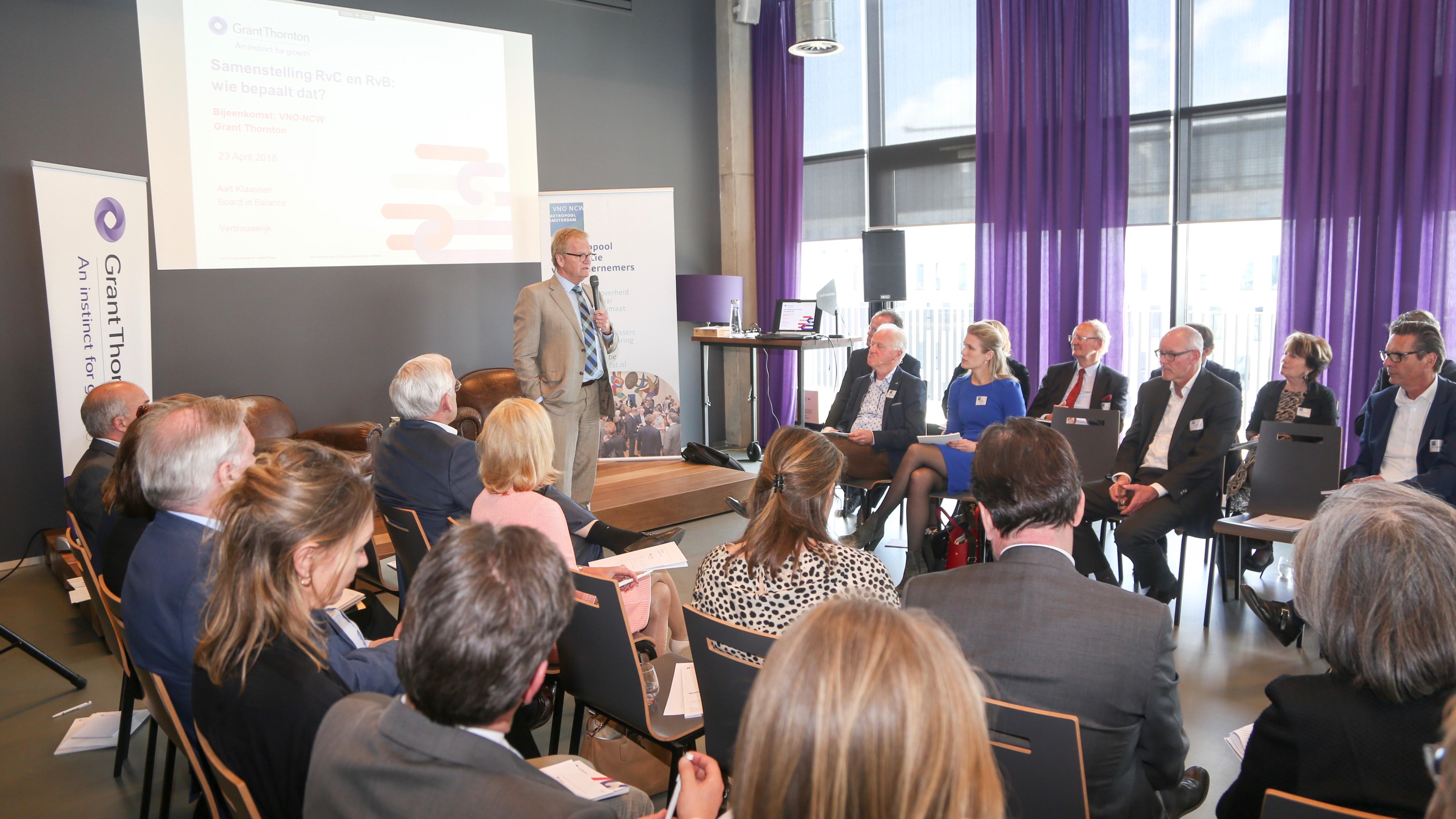 Rondetafelsessie – werkgeversrol RvC: 'nog een lange weg te gaan'